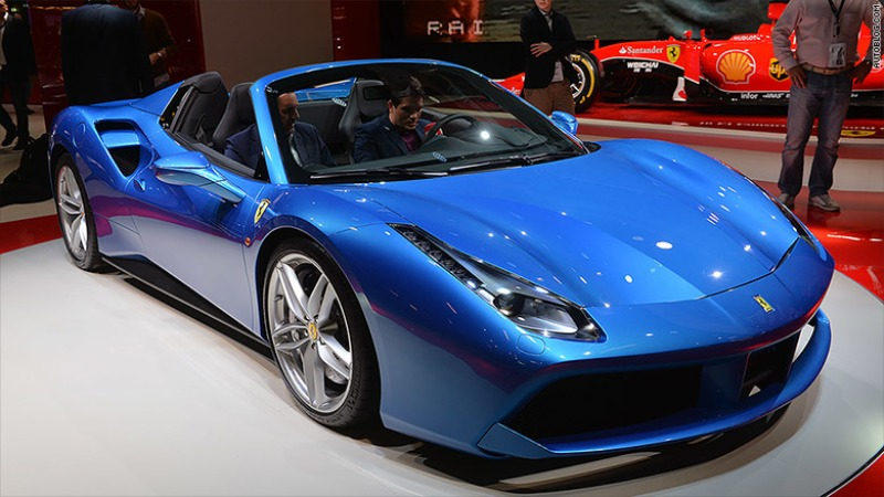 ferrari 488 spider price